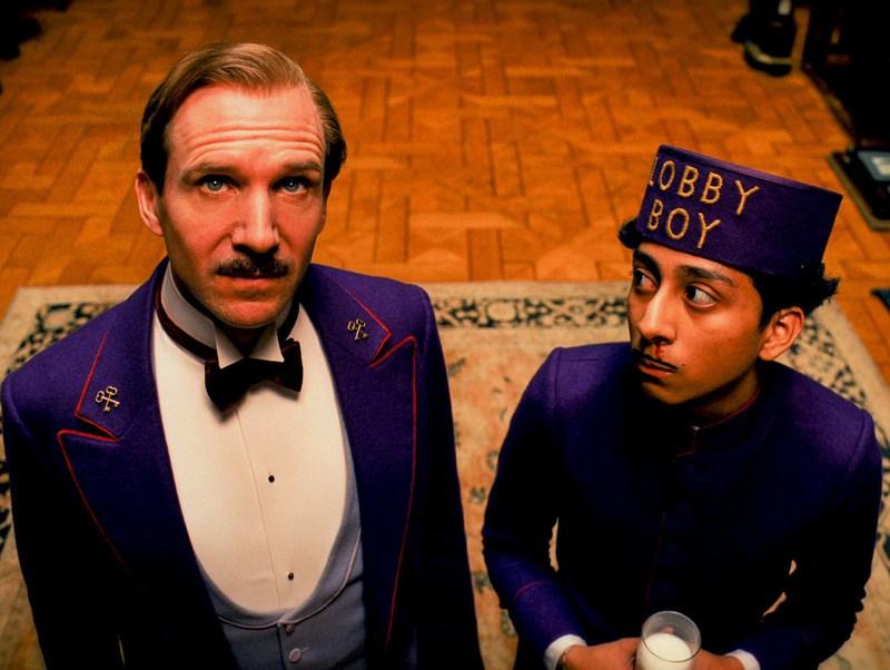"""Foto: Scena iz filma """" Grand Budapest Hotel"""""""